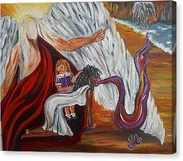 Exorcismo Canvas Print