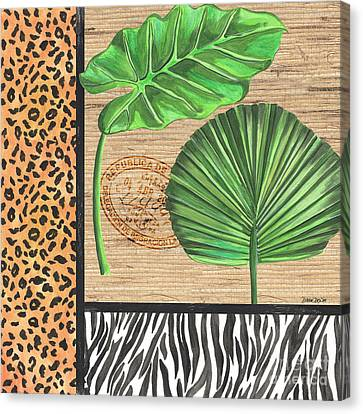 Exotic Palms 2 Canvas Print by Debbie DeWitt