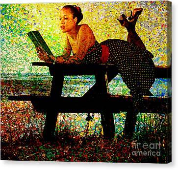 Expanding Horizons  Canvas Print by Tammera Malicki-Wong