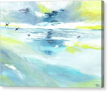 Expanse Canvas Print by Anil Nene