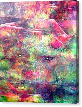 Expectations Canvas Print by Fania Simon