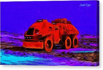 Expedition - Da Canvas Print by Leonardo Digenio