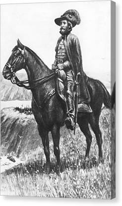 Explorer Juan Bautista De Anza Canvas Print by Underwood Archives