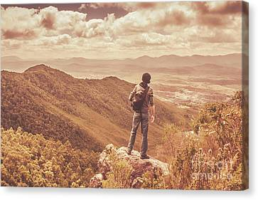 Exploring The Rugged West Coast Of Tasmania Canvas Print by Jorgo Photography - Wall Art Gallery