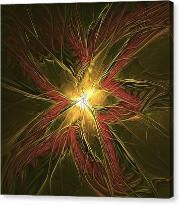 Explosive New Star Canvas Print by Deborah Benoit