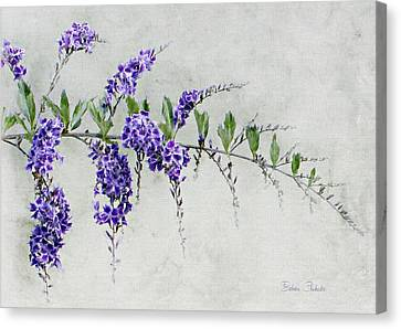 Extension Of Nature Canvas Print by Barbara Chichester