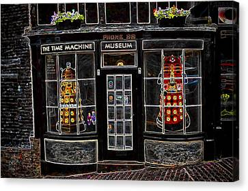 Canvas Print featuring the photograph Exterminate Exterminate by Pennie  McCracken