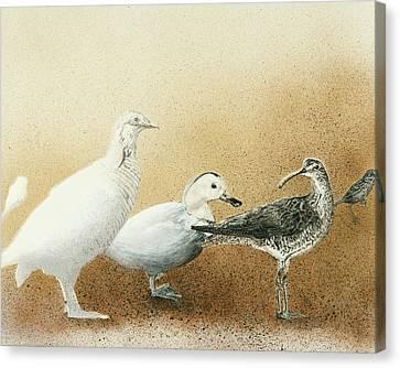 Extinct Canvas Print