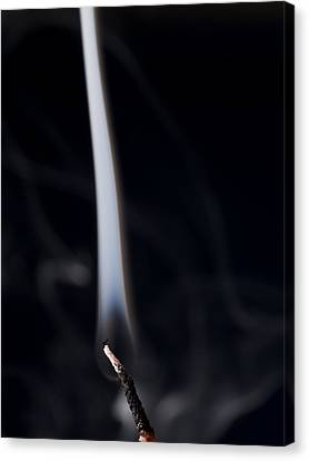 Flickering Light Canvas Print - Extinguished  by Jim DeLillo