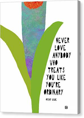 Canvas Print featuring the painting Extraordinary Love by Lisa Weedn
