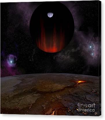 Extrasolar Planet Hd149026b Canvas Print