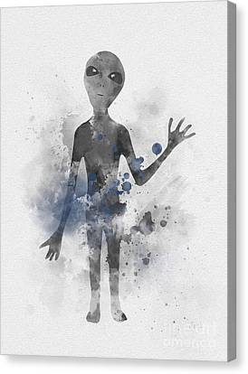Extraterrestrial Canvas Print by Rebecca Jenkins