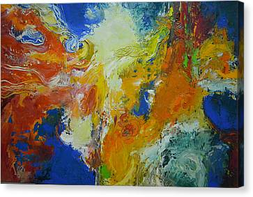 Exuberance Ll Canvas Print by Christopher Chua