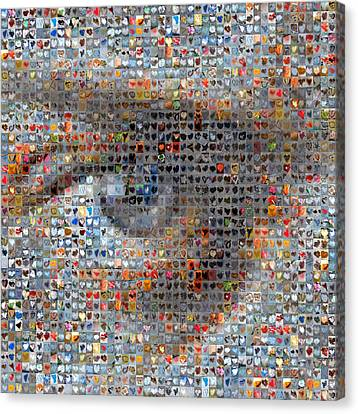 Eye 2 Canvas Print by Boy Sees Hearts