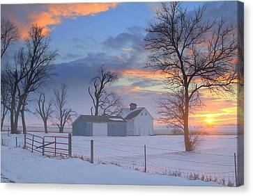 Eye Candy..winters Canvas Print by Al  Swasey