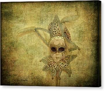 Eye Contact Canvas Print by Eena Bo