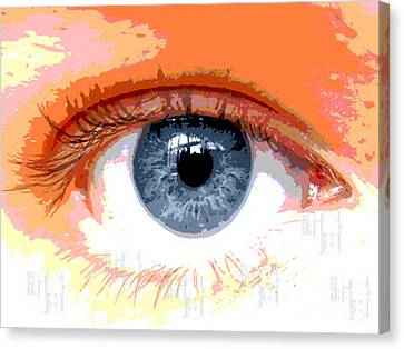 Eye Cu 2 Canvas Print