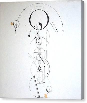 Eye, I, Woman Canvas Print by Sinta Jimenez