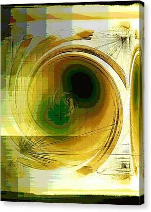 Eye In The Sky Canvas Print by Carolyn Repka