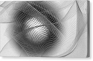 Eye Net Canvas Print by Constance Krejci