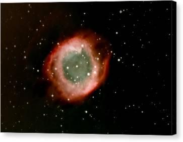 Eye Of God Helix Nebula Canvas Print by Jim DeLillo