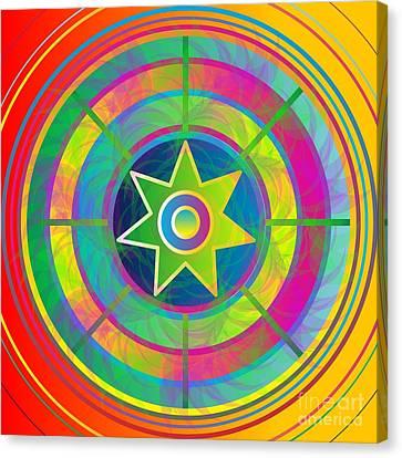Eye Of Kanaloa 2012 Canvas Print