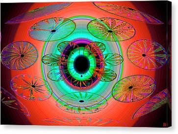 Eye Of The Butterfly Canvas Print by David Lee Thompson