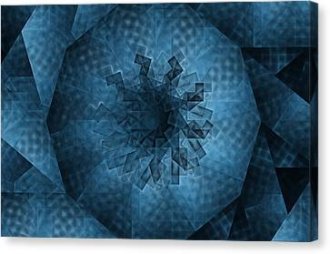 Eye Of The Crystal Canvas Print