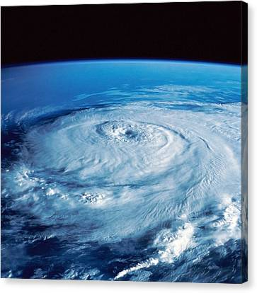 Eye Of The Hurricane Canvas Print by Stocktrek Images