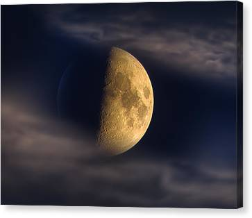 Eye Of The Night Canvas Print by Alexey Kljatov