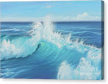 Eye Of The Ocean Canvas Print by Joe Mandrick