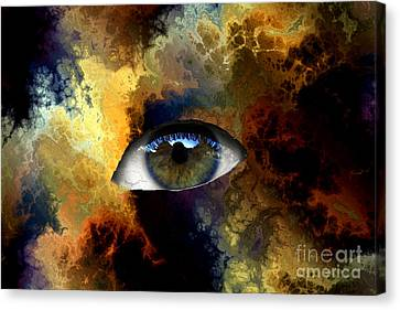 Eye Of The Storm Canvas Print by John Rizzuto