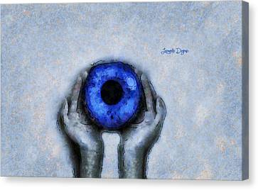 Eye Offer - Da Canvas Print
