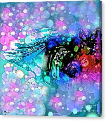 Eye See Canvas Print by Saundra Myles