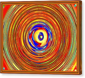 Eye See You Canvas Print by Debra Lynch