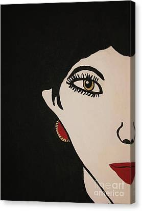 Eye Spy Painting Canvas Print by Shelly Wiseberg