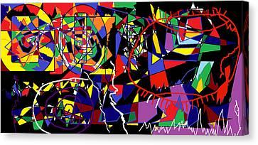 Eye Trap Canvas Print