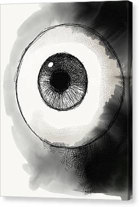 Eyeball Canvas Print by Antonio Romero