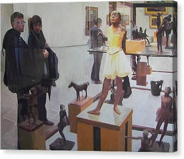 Eyeing Degas Canvas Print