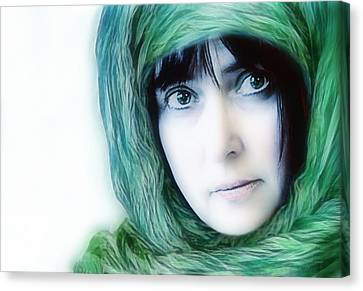 eyes like windows of the soul - II Canvas Print by Joachim G Pinkawa