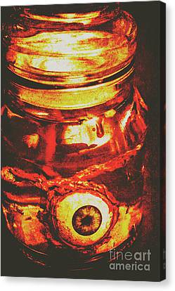 Bizarre Canvas Print - Eyes Of Formaldehyde by Jorgo Photography - Wall Art Gallery
