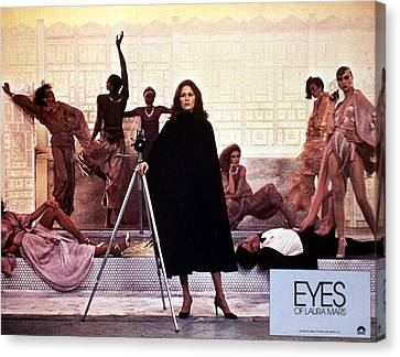 Posth Canvas Print - Eyes Of Laura Mars, Faye Dunaway, 1978 by Everett