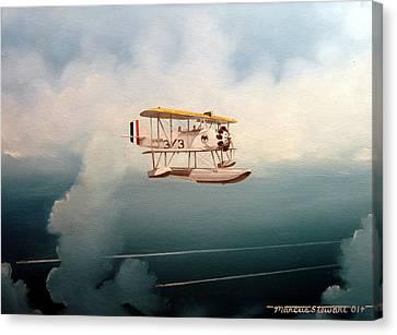 Eyes Of The Fleet Canvas Print by Marc Stewart