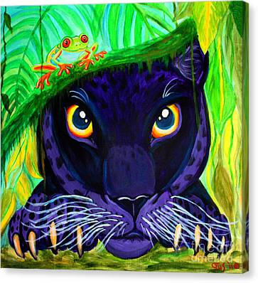 Eyes Of The Rainforest Canvas Print