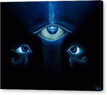 Eyes To See Canvas Print by Leon Willis