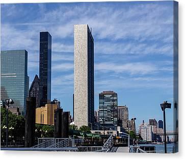 Newyorkcity Canvas Print - Eyespyartnyc 05727-34 by Di Designs