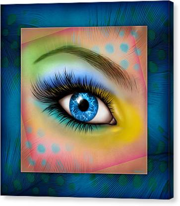 Eyetraction Canvas Print