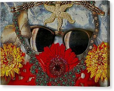 Eyewear And Beautu Popart Canvas Print
