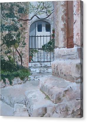 Eze Canvas Print