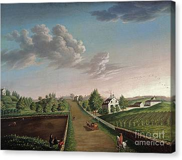 Ezekiel Hersey Derby Farm Canvas Print
